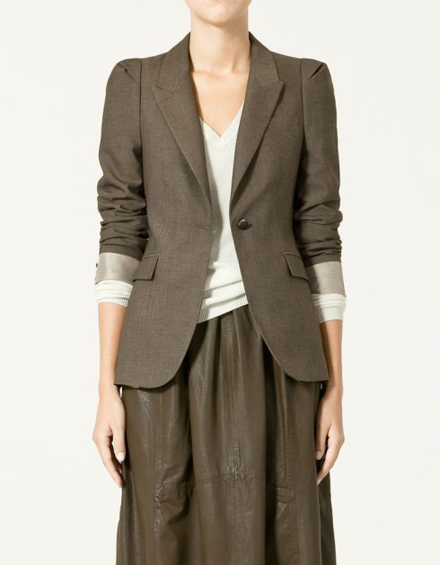 Zara Blazer with Lapels
