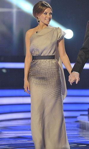 Danii Minogue in Victoria Beckham