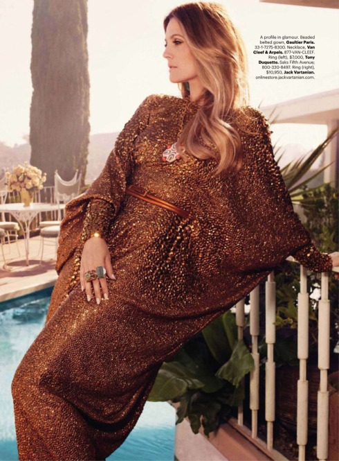 Drew Barrymore for Harper's Bazaar US October 2010