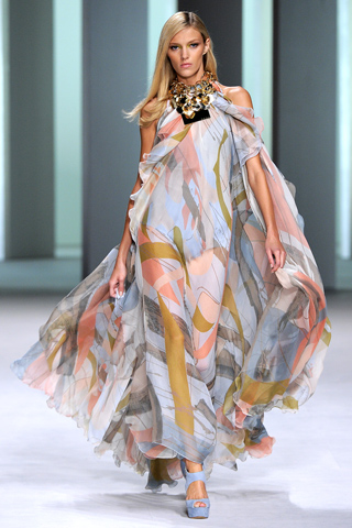 Elie Saab_Paris Fashion Week_Spring 2011