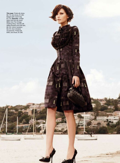 Fifties elegance_Vogue Australia_September issue