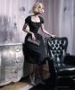 Haute 50s elegance in Harpers Bazaar en Espanol