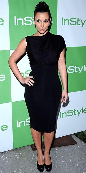 Kim Kardashian in Victoria Beckham