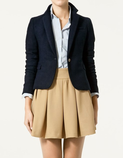 Zara Knitted Blazer