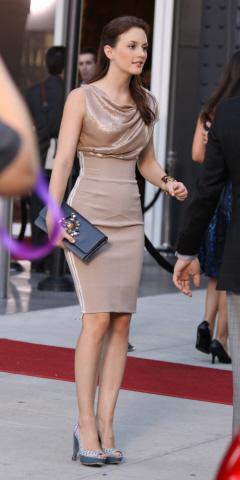 Leighton_Meester in Victoria Beckham