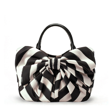 Lulu Guiness Stripe Small Wanda Bag