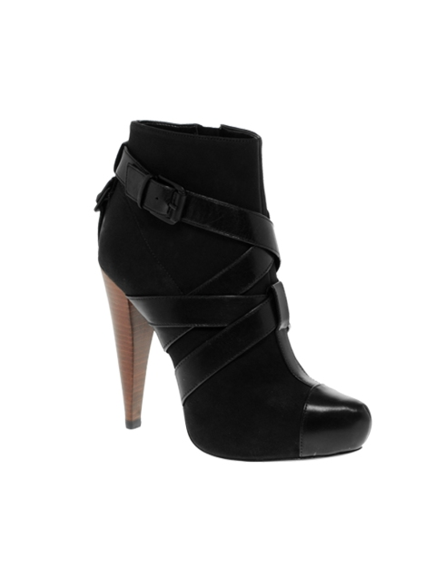 Report Signature Caleb Strap Heeled Ankle Boots