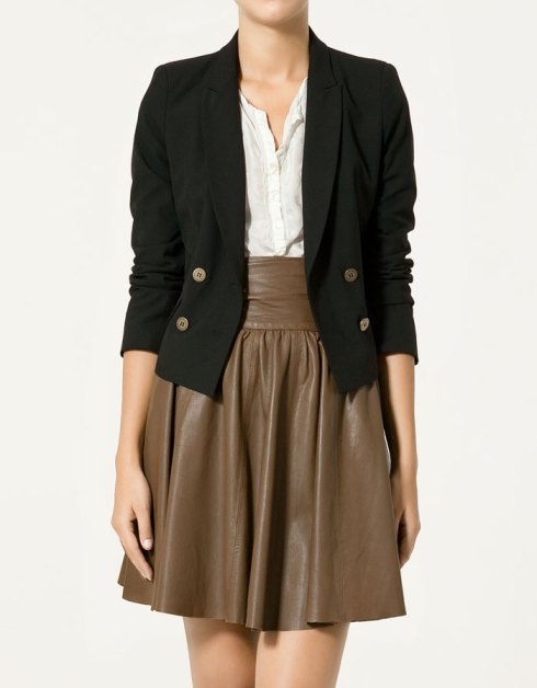 Zara Short Cross-over Blazer