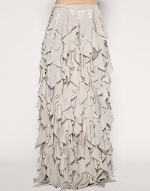 Asos Black Laser Cut Petal Maxi Skirt  £95
