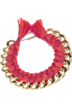 Aurelie Bidermann_Do Brazil 18-karat gold-plated bracelet_£240