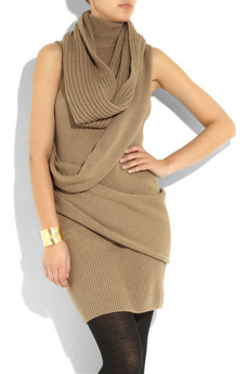 Fendi_Draped wool sweater dress_£820