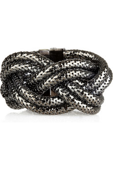 Kara by Kara Ross_Braided snake-chain bracelet_£150