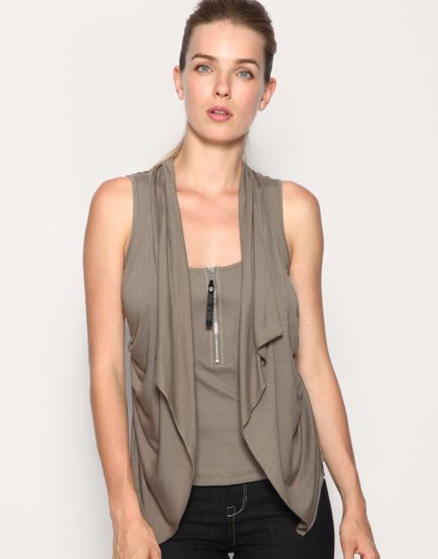 Karen Millen Drape Front Vest_£39.50