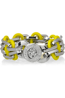 Marc by Marc Jacobs Fluoro chain-link bracelet £85