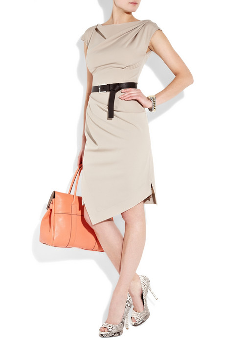 Michael Kors_Belted stretch-wool dress