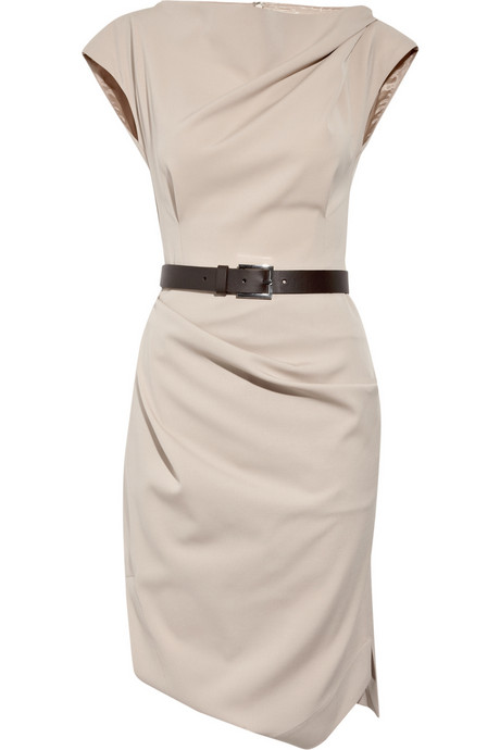 Michael Kors_Belted stretch-wool dress_£1055