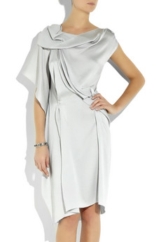 RM by Roland Mouret Drache draped silk-blend dress  £1200