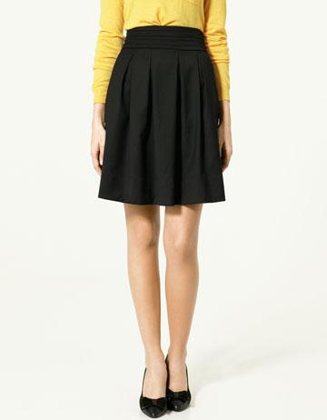 Zara Panel Skirt_£25.99