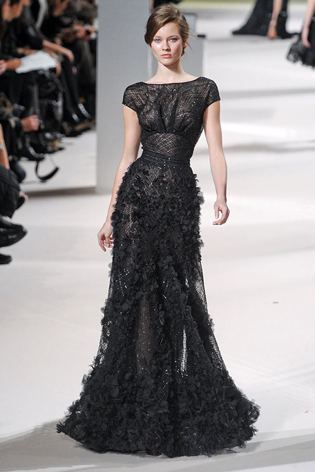Elie saab spring 11 haute couture every girl s dream for What does haute couture mean