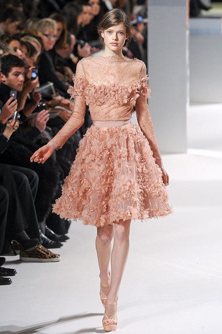 Elie Saab Spring 11 Haute Couture Every Girl S Dream
