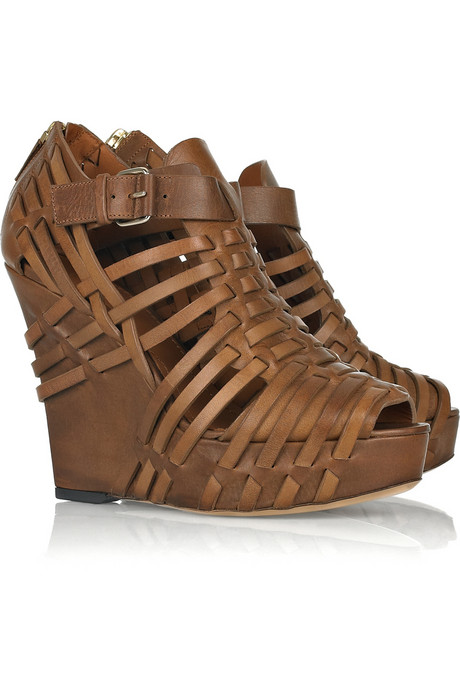 Givenchy_Woven leather wedges_£945