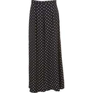 Topshop_Polka Dot Wide Leg Trousers