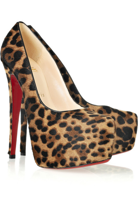 Christian Louboutin_Daffodil 160 calf hair platform pumps_£765