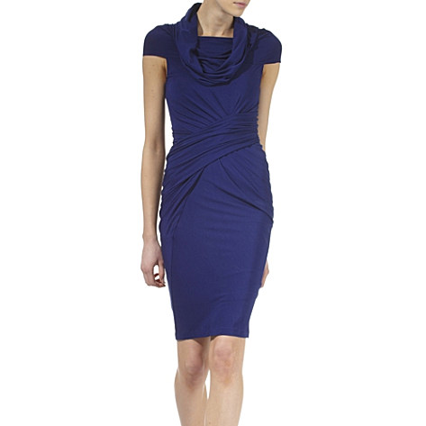 Donna Karan_Cosmos draped dress_£1110