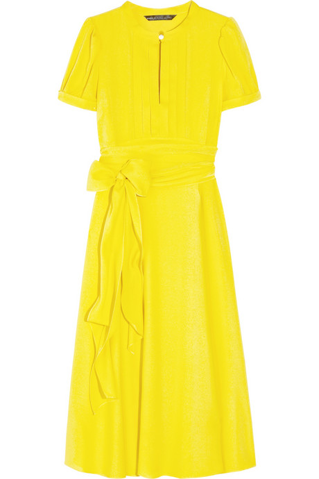 Marc by Marc Jacobs_Mimi belted silk crepe de Chine dress_£575