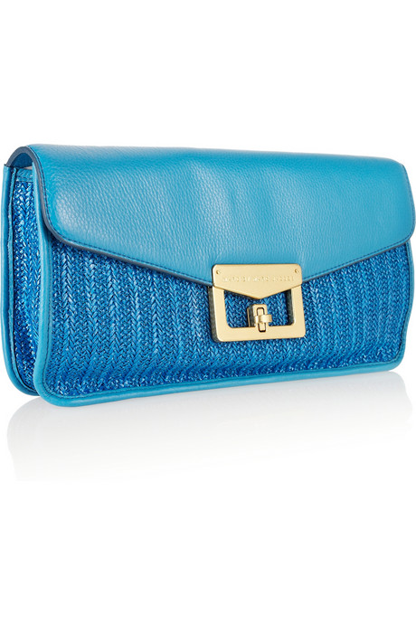 Marc by Marc Jacobs_Raffia and Leather Clutch175gbp