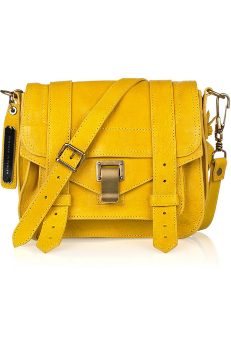 Proenza Schouler_Small Leather Satchel_£895