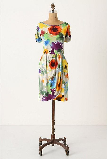 Gathered Hemlock Dress_$148