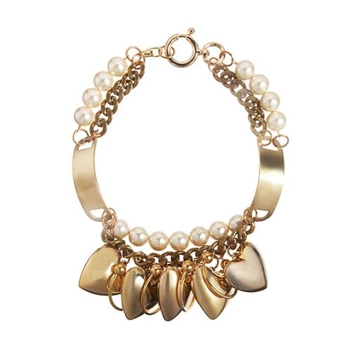 Fallon Oversized Heart Necklace $315
