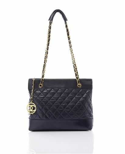 Chanel quilted shopper - Cocosa
