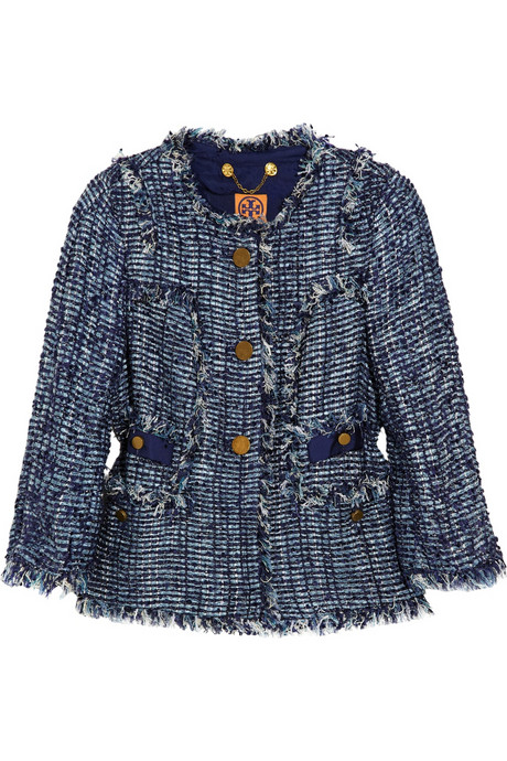 Tory Burch Daniela Bouclé-tweed jacket_£460