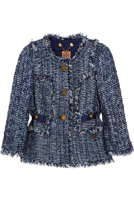 Tory Burch Daniela Bouclé-tweed jacket_£460